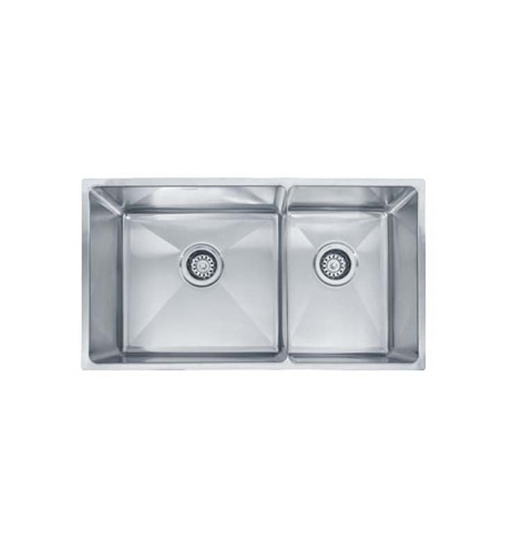 Franke PSX120309 Professional Double Basin Undermount Stainless Steel Kitchen Sink