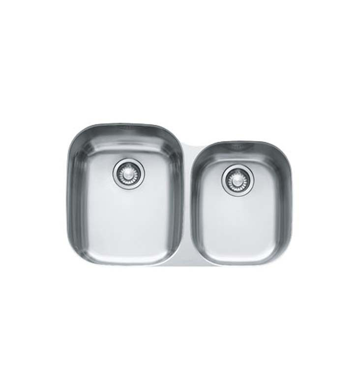 Franke RGX160 Regatta Double Basin Undermount Stainless Steel Kitchen Sink
