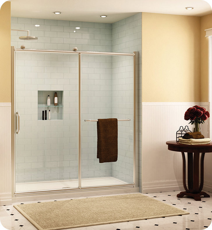 Fleurco Forte Roma In Line Shower Door and Panel FRM2-4