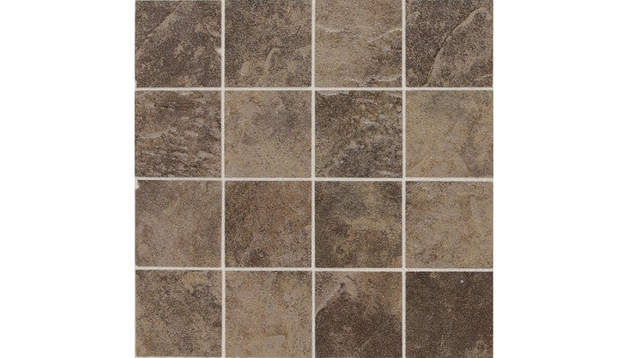 Daltile CONTINENTAL SLATE ™ COLORBODY™ PORCELAIN MOROCCAN BROWN MOSAIC CS55