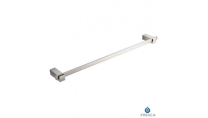 "Fresca Ellite 24"" Towel Bar in Brushed Nickel FAC1437BN"