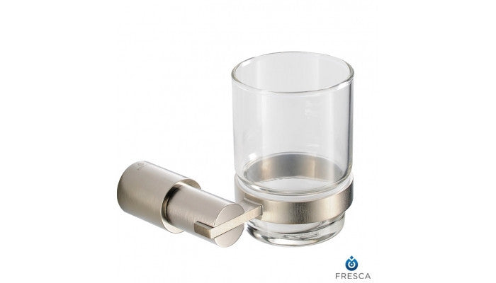 Fresca Magnifico Tumbler Holder in Brushed Nickel FAC0110BN