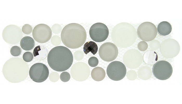 Symphony Bubble Series Border Smokey Froth SLS1611
