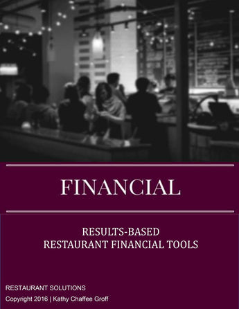 Restaurant Solutions Financial Tools