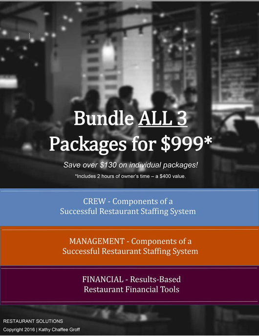 Restaurant Solutions Bundle