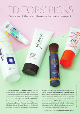 Skin Magazine - | Brush On Block Mineral Powder Sunscreen