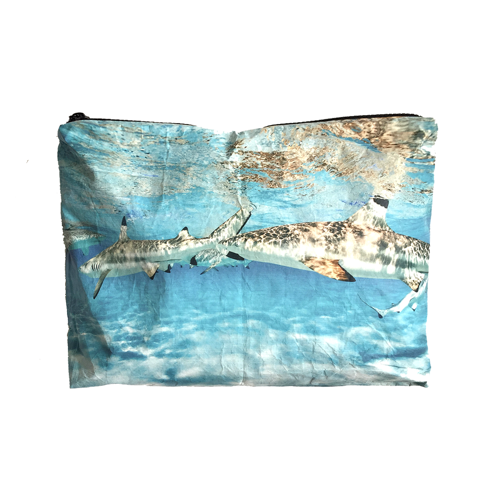 Mid-Size Lagoon Life Wet-Dry Pouch