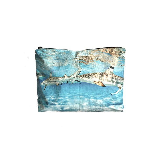 Small Lagoon Life Wet-Dry Pouch