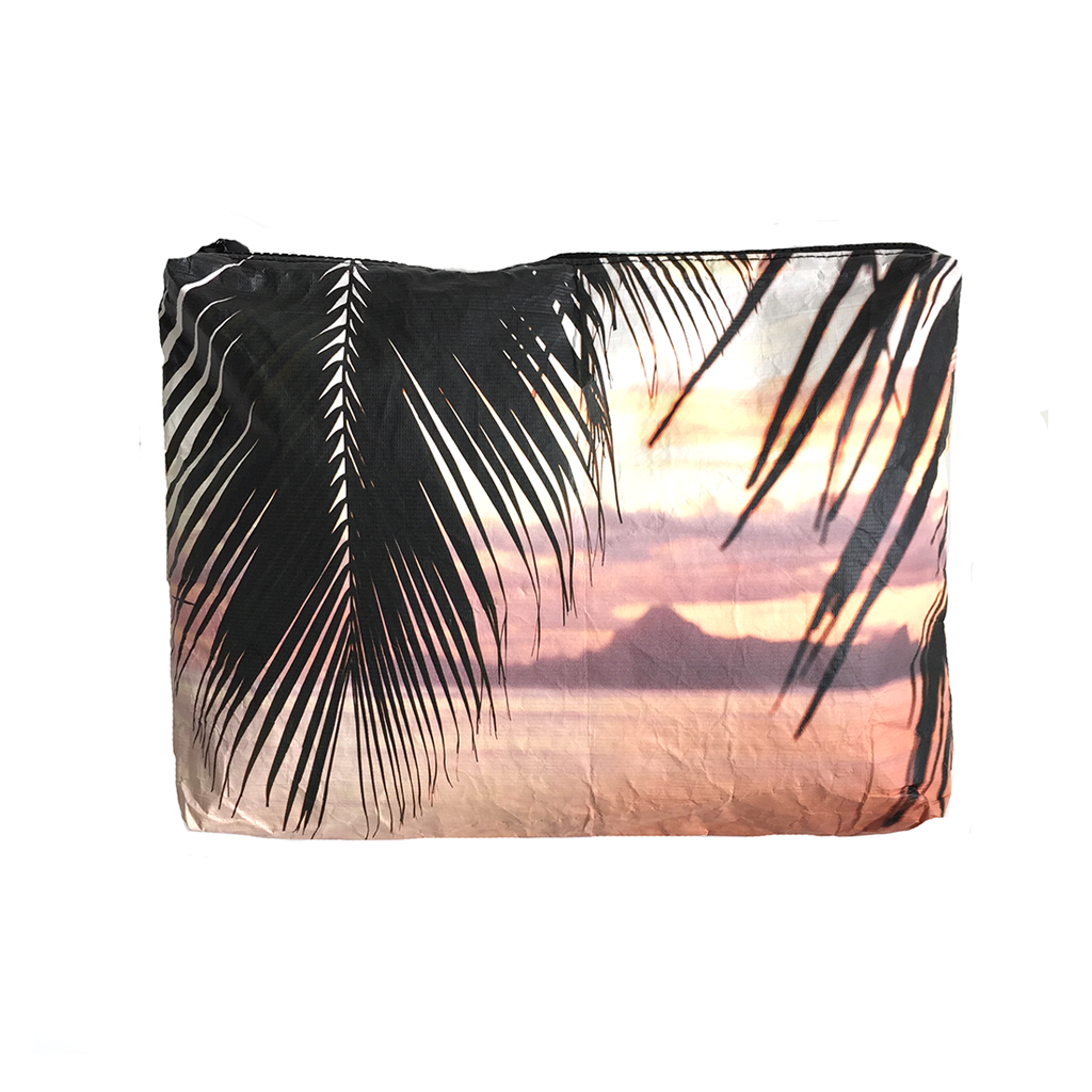 Mid-Size Moorea Sunset Wet-Dry Pouch