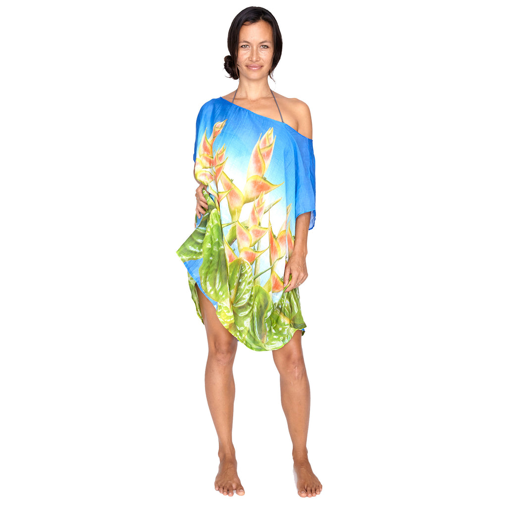 Tropical Collage Kaftan