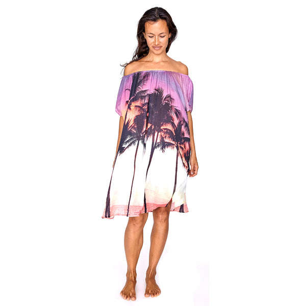 Wailea Off the Shoulder Kaftan