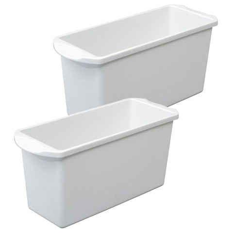 True Craftware Ice Cube Bin - Container - Box (Set of 2)