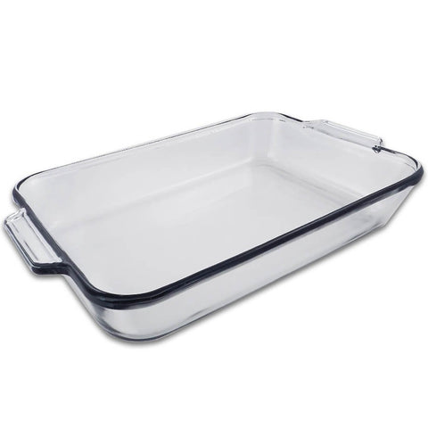 True Craftware Oblong Clear Glass Baking Dish - 11