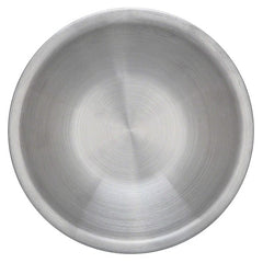 "Set of 6 - True Craftware Stainless Steel Mixing Bowls - 6.5"" Wide - Flat Bottom and Rim"