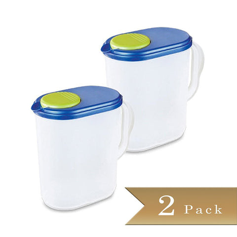True Craftware 1 Gallon Pitchers with Ultra Seal and Pivot Spout