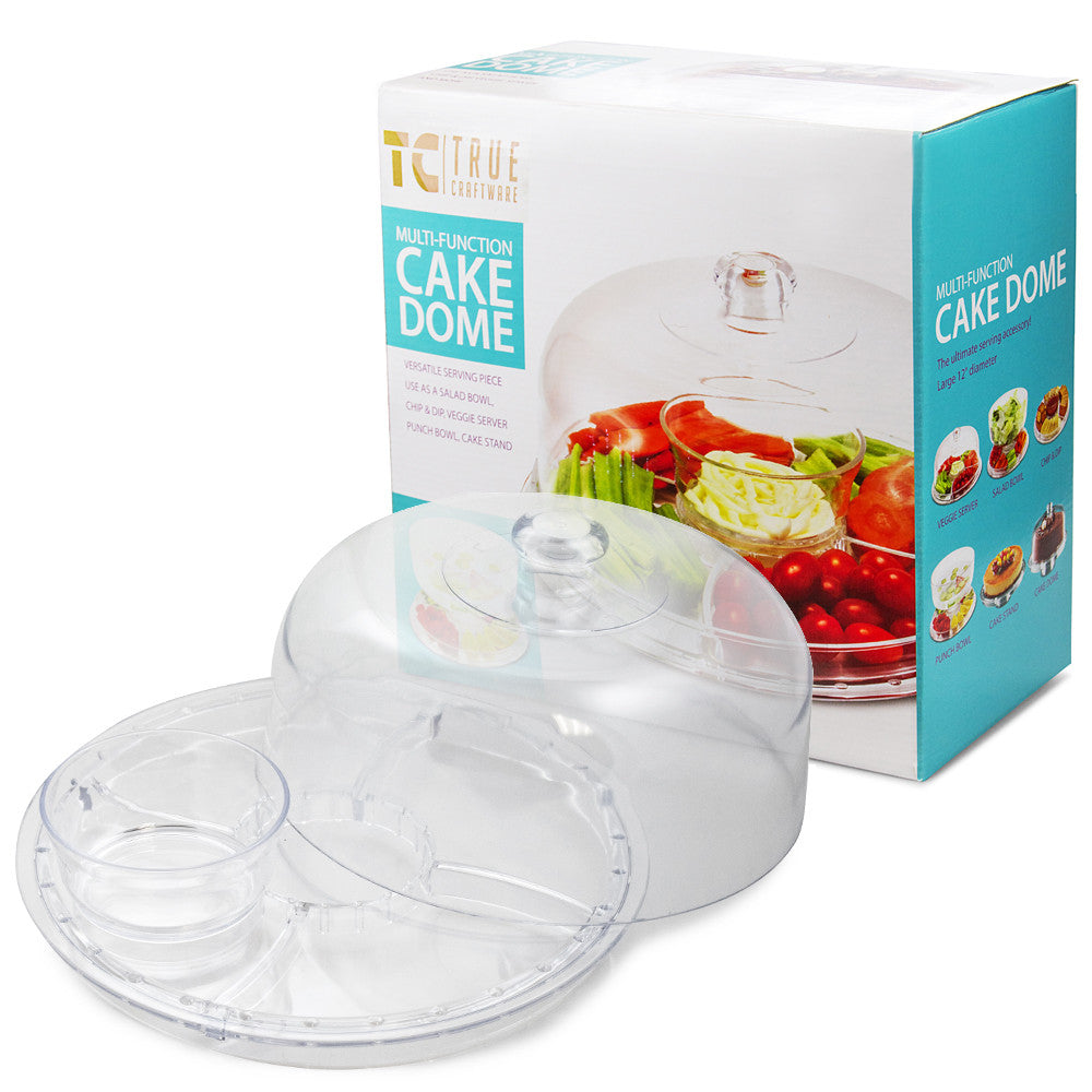 True Craftware Multifunctional (6-in-1 different possibilities ... True Craftware Multifunctional 6 In 1 Different Possibilities · Cake Stand ...  sc 1 st  Best Image Engine & Excellent Acrylic Cake Stand With Dome Lid Ideas - Best Image Engine ...