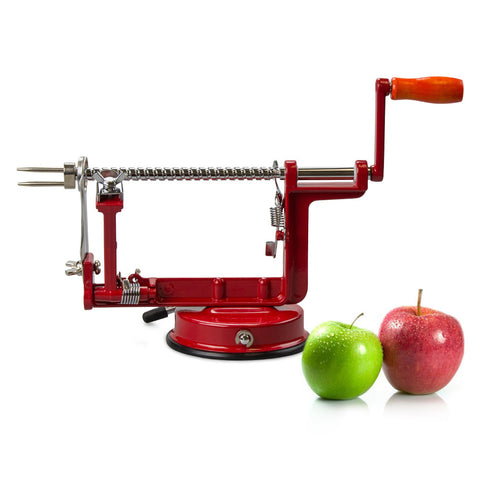 True Craftware Heavy Duty Apple Peeler, Corer and Slicer Machine with Suction Base