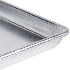 "18 Gauge Aluminium Commercial Baker's 1/4 Quarter Size Sheets / Baking Trays / Pan / 9 x 13"" (Set of 12)"