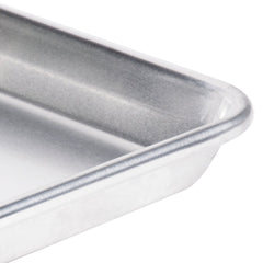 "18 Gauge Aluminium Commercial Baker's 2/3 Size Sheets / Baking Trays / Pan / 15 x 21"" (Set of 2)"