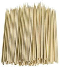 "Pack of 1200 - True Craftware 10"" Inch Bamboo Skewers - 3.0mm - BBQ, Shish Kabobs, Appetizers"