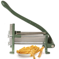 "True Craftware Commerical Grade French Fry Cutter - Potato Slicer - Machine with 1/2"" Cut Blade and Suction Feet"