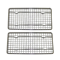 "True Craftware Cooling Rack - 4 1/4"" x 8 1/4"" - Chrome Plated (Set of 2)"