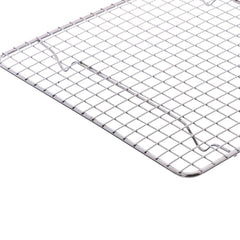 "4 - True Craftware Chrome Plated Wire Pan Grate - Cooling Racks 10"" x 18"""