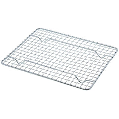 "True Craftware Half-Size, Heavy Duty Wire Pan Grate - 8"" x 10"" - Cooling Rack - Chrome Plated (Set of 2)"