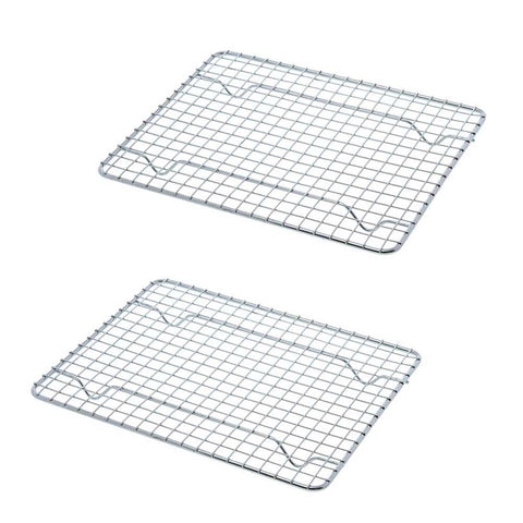 True Craftware Half-Size, Heavy Duty Wire Pan Grate - 8