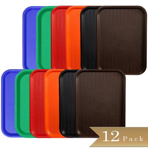 TrueCraftware Plastic Fast Food Trays 12 x 16