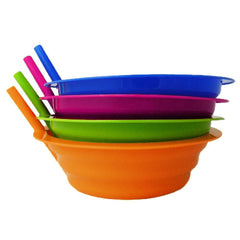 8 - True Craftware Assorted Color Sip-A-Bowls - 22 oz - Available in Pink, Blue, Orange and Green
