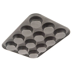 True Craftware Non Stick 12 Cup Muffin Pan - Bakeware - Cupcake Tray - Carbon Steel