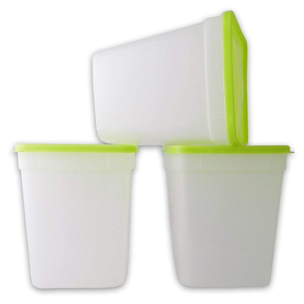 True Craftware Freezer Storage Containers - 1 Quart - 946 mL (3 Pack)