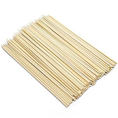 "Pack of 1200 - True Craftware 6"" Inch Bamboo Skewers - 3.0mm - BBQ, Shish Kabobs, Appetizers"