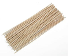 "True Craftware 6"" Inch Bamboo Skewers - 3.0mm - BBQ, Shish Kabobs, Appetizers - (Pack of 600)"