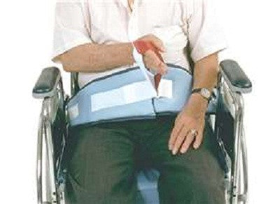 Easy-Release Soft Wheelchair Belt