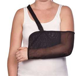 AliMed Mesh Arm Sling, Black - Artxmedical