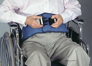 SkiL-Care 301270 Resident-Release Soft Wheelchair Belt With Snap-Together Closure - Artxmedical