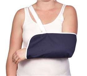 AliMed Deluxe Envelope Style Arm Sling, Navy - Artxmedical