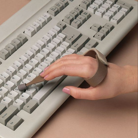 Slip-On Typing/Keyboard Aid