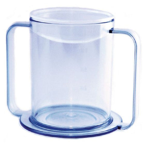 Clear 2-Handle, 12 oz. Mug