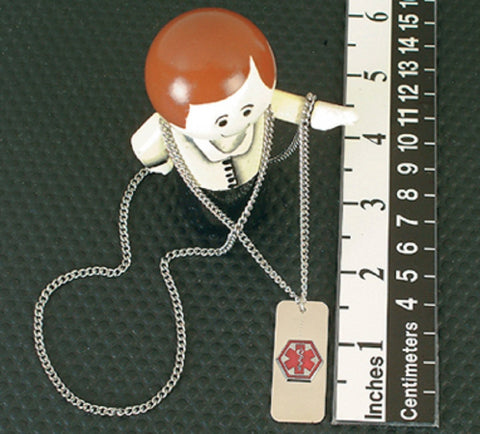 Emergency I.D. Necklace