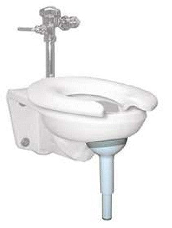 Wall-Mounted-Toilet Support