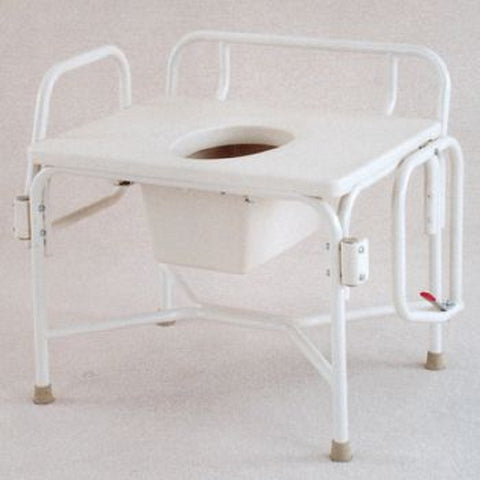 Drop-Arm Commode