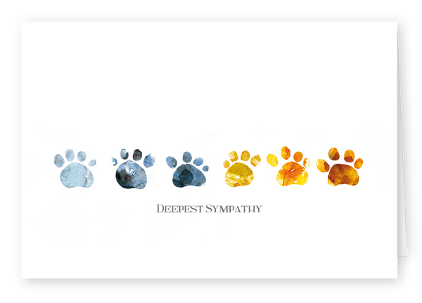 Watercolour Series - Pawprint