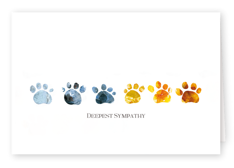 Watercolour Series 3 - Pawprint