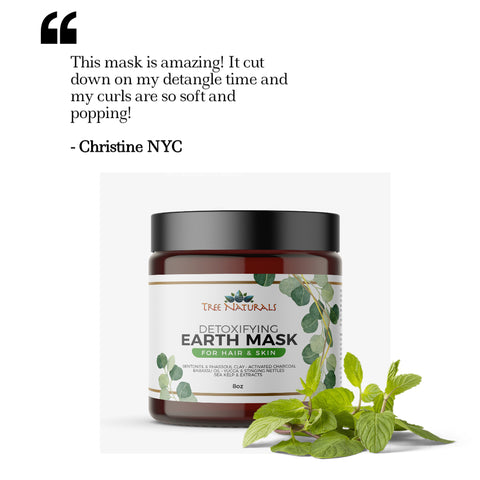 tree naturals detoxifying earth mask