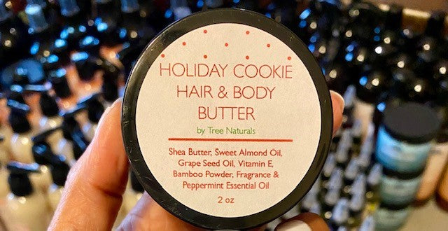 Holiday Cookie Hair & Body Butter - Tree Naturals