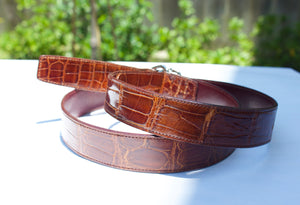 double d ring belt for men
