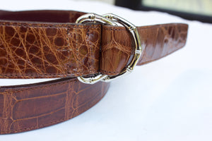 Double D-Ring Alligator Belt